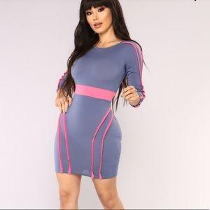 5/$20 Fashion Nova Born to Love You mini dress